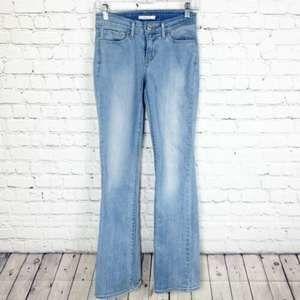 Levis 715 Boot Cut Size 26x32 Slim Fit Jeans